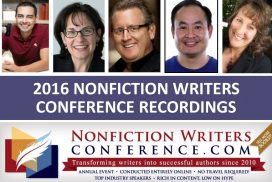 Nonfiction Writers Conference Recordings 2016