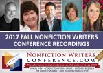 2017 FALL Nonfiction Writers Conference Recordings
