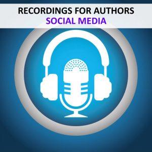 RECORDINGS - AUTHORS - SOCIAL MEDIA