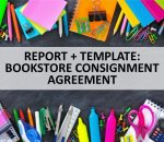 Report: How to Sell Books to Bookstores on Consignment Plus Bookstore Consignment Agreement Template