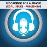 RECORDINGS - AUTHORS -LEGAL ISSUES PUBLISHING